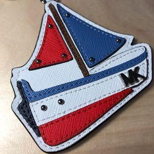 Michael Kors Sailboat Keychain